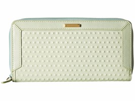 NEW LODIS WOMEN'S LEATHER CADIZ JOYA ZIP CLUTCH... - $79.15