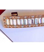 Elle 47141 Gold Irridescent Rhinestone Barrette - $12.99