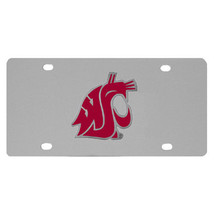 washington state cougars college football steel car tag license plate  - $37.99