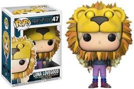 Funko Pop Movies Harry Potter-Luna Lovegood w/ Lion Head Collectible Figure - $17.27