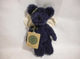 "BOYDS Bears Archive Collection LAPIS blue stuffed plush 9"" toy teddy ang... - $8.99"