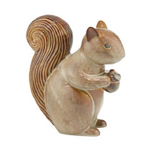 Department 56 Ceramic Mama squirrel holding acorn Forest Lane