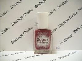 Sally Hansen Sugar Shimmer Textured Nail Color Polish #03 Cinny Sweet - $5.26