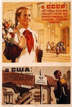 Reprint of an Old Soviet Russian Vintage Poster -742 - A3 Poster Prints ... - $22.99