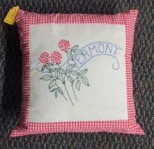 "Vermont State Flower Throw Pillow - 14"" - $14.00"