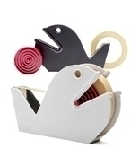 Tape Dispenser Fancy Original Lifestyle Gift Design Monkey Studio Home O... - $24.84 CAD