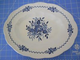 """Lovely J & G Meakin England Dresden Blue 12"""" Platter Ironstone Dishwashe... - $15.00"""