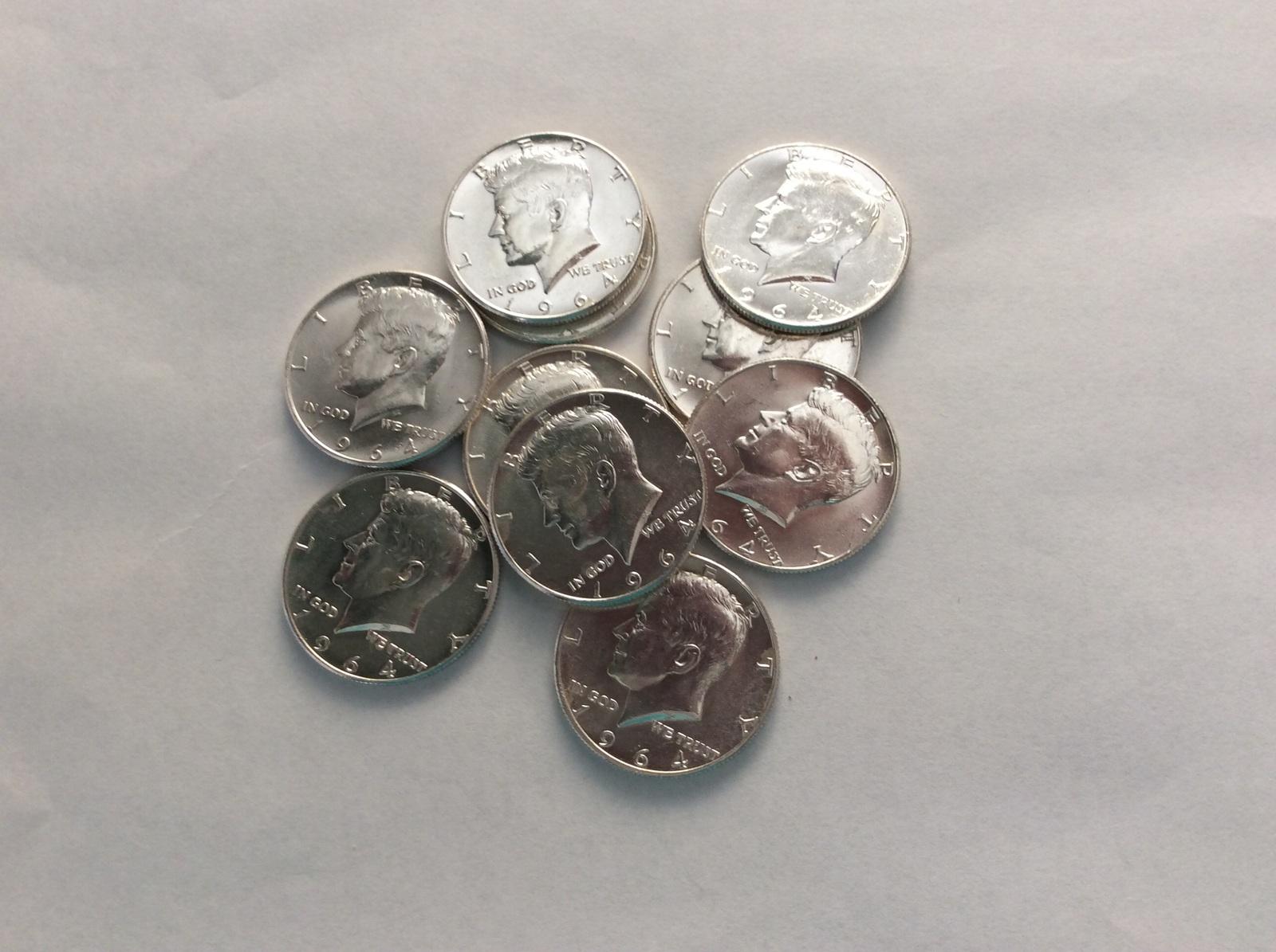 2001 P Kennedy Half Dollar FULL UNC MINT ROLL 20 UNC coins