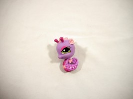 LITTLEST PET SHOP #1314 PURPLE AND PINK SEAHORSE 100% Authentic - $5.94