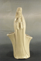 "Planter Flower Vase Woman Praying 11.25"" Figuri... - $24.00"