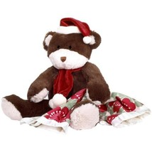 "New CoCaLo 18"" Plush Christmas Santa Teddy Bear &Security Blanket Gift S... - $12.21 CAD"