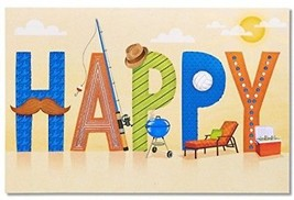 American Greetings Happy Father's Day Card With Foil - $12.69