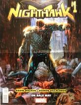 Nighthawk #1 Promo Poster Ramon Villalobos Marvel comics 2016 - $4.50