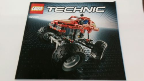 Lego Technic 42005 Monster Truck Instruction And 50 Similar Items