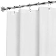 MAYTEX Super Heavyweight Premium 10 Gauge Shower Curtain Liner with Rust... - $17.98