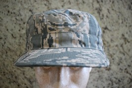 Usaf Us Air Force Current Issue Afghanistan Abu Camo Ripstop Patrol Cap Size 7 N - $18.80