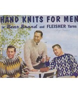 Needlecraft Book- Hand Knits For Men 1961, Vol ... - $5.99
