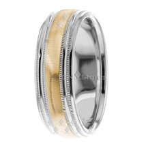 10K Gold 7mm Mens Womens Wedding Bands Ring Comfort Fit Mens Womens Wedd... - $326.32