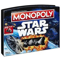 Star Wars Themed Monopoly Game Family Fun Board Game Kids Adults Collect... - $37.50