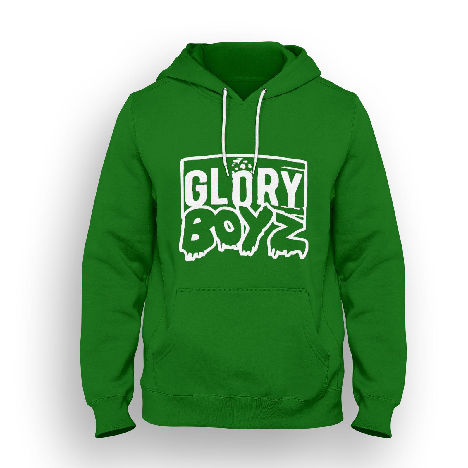 Glory Boyz Hoodie Grey - Cardigan With Buttons
