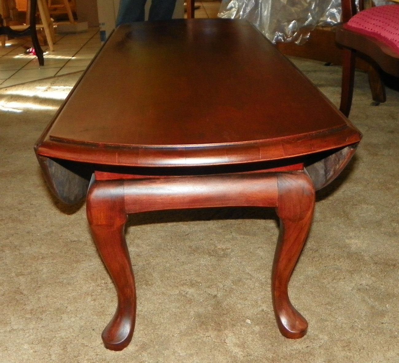 Cherry Dropleaf Coffee Table  (CT18)