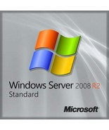 Microsoft Windows Server 2008 R2 Standard Product Key Digital Delivery New - $45.00