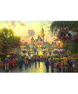 Thomas Kinkade Disneyland 50th Anniversary - $1,995.00