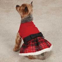 Tartan Holiday Party Dog Dress - $19.95+
