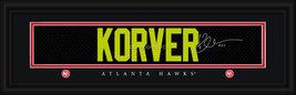 Kyle Korver Atlanta Hawks Player Signature Stitched Jersey Framed Print - $39.95