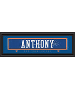 Carmelo Anthony New York Knicks Player Signature Stitched Jersey Framed ... - $39.95