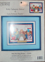 Candamar Designs Inc,. MALE BONDING PICTURE Counted Cross Stitch Kit 51353 - $11.88