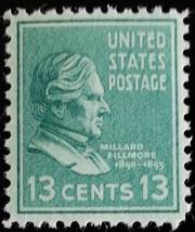 1938 13c Millard Fillmore, 13th President Scott 818 Mint F/VF NH - $1.34