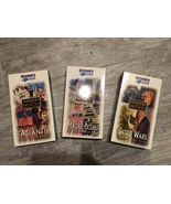 1997 Discovery Chanel's Searching for Lost Worlds Series (3 VHS tapes) - $15.00