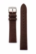 Speidel 22mm Genuine Lizard Brown Watchband - $16.75