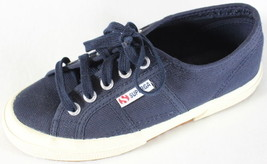 """~~~ YACHTING TO MARTHA'S VINEYARD! ~~~ SUPERGA NAVY """"LACE-UP"""" SNEAKERS ~... - $68.72"""