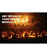 Halloween Special ANY Ritual Of Your Choice! Vo... - $14.99