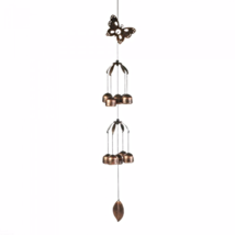 Butterfly Double Tier Bell Wind Chime - $21.15