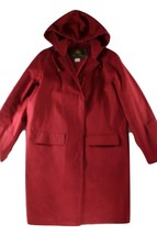 "LORO PIANA CRANBERRY ""HOODED"" WATERPROOF JACKET/COAT - L - $705.25 CAD"
