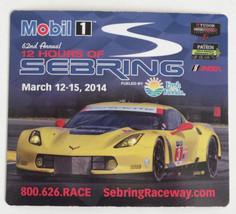 2014 12 Hours of Sebring Magnet Corvette GT2 IMSA Tudor - $2.96