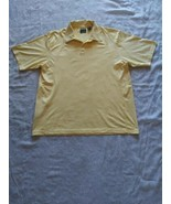 Men's Yellow Ping Golf Shirt Ping Collection UV Protection Size XL - $18.69