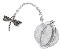 Dragonfly Charm Tea Infuser Ball - By Ganz - $12.99