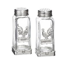 Ganz Silver Rooster Design Salt & Pepper Shaker Set - €19,58 EUR