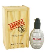 ARSENAL RED by Gilles Cantuel Eau De Parfum Spray for Men - $22.04