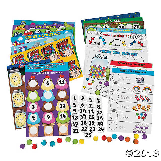 Primary image for Numbers & Counting Magnetic Activity Set