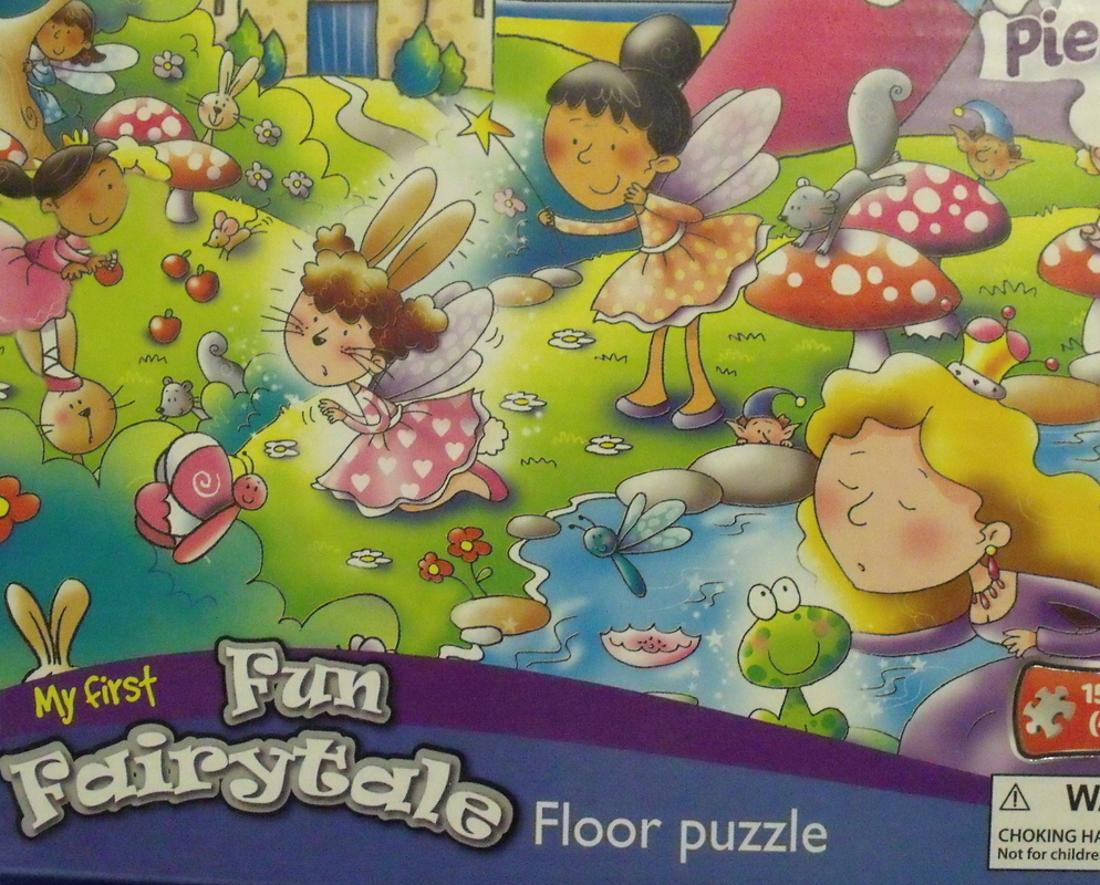 Toys Grafix New My First Fairytale Floor Puzzle 45 pieces