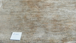 Gold Green Stria Chenille Upholstery Fabric Remnant  F1002 - $65.20