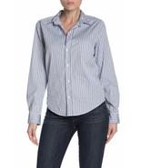 Frank & Eileen Barry Long Sleeve Button Down Shirt XS - $83.22
