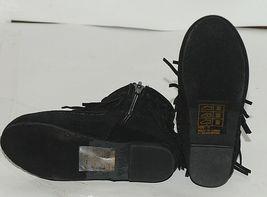 I Love Yo Kids AVA 92T Girls Fringe Boot Black Zip Up Size Five image 5
