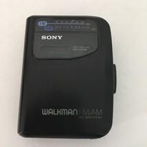 Vintage Sony Walkman WM-FX101 Cassette Player AM/FM Radio WORKING - $18.81