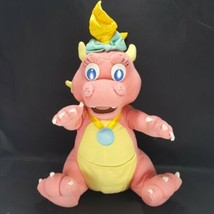 "Hasbro Dragon Tales PINK Cassie Dragon Plush Stuffed Animal Playskool 14"" - $16.82"